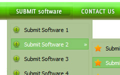 How Create Look Buttons Web Site  Web Menu How To