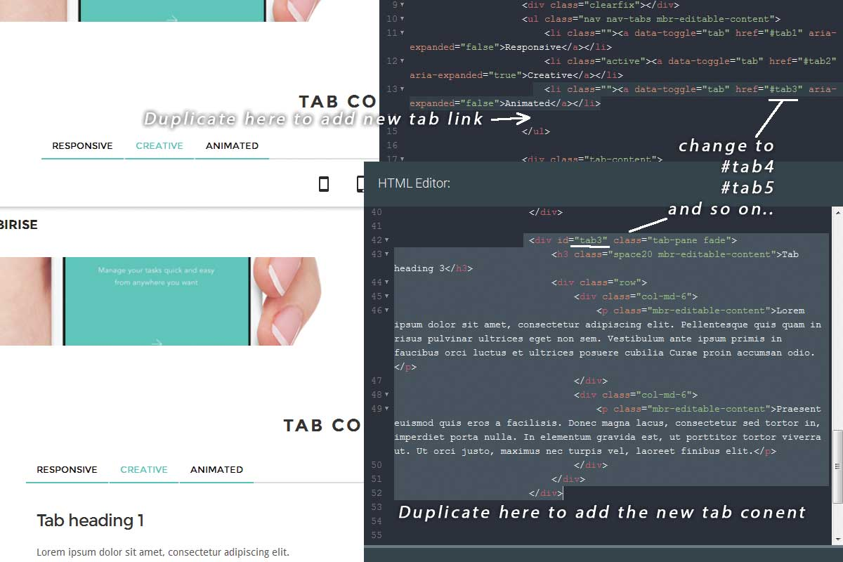 Bootstrap Agency Theme Template