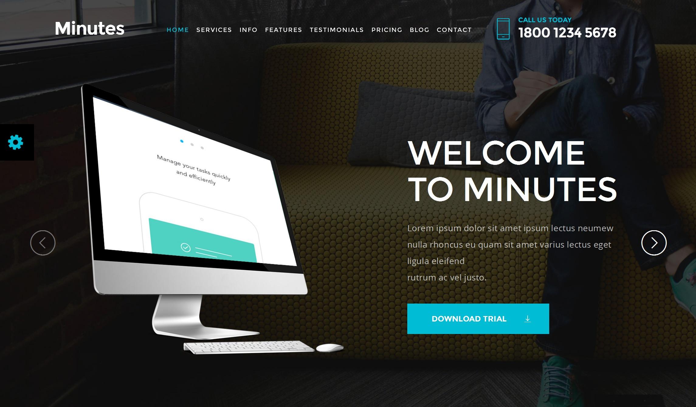 Mobile Bootstrap Starter Theme