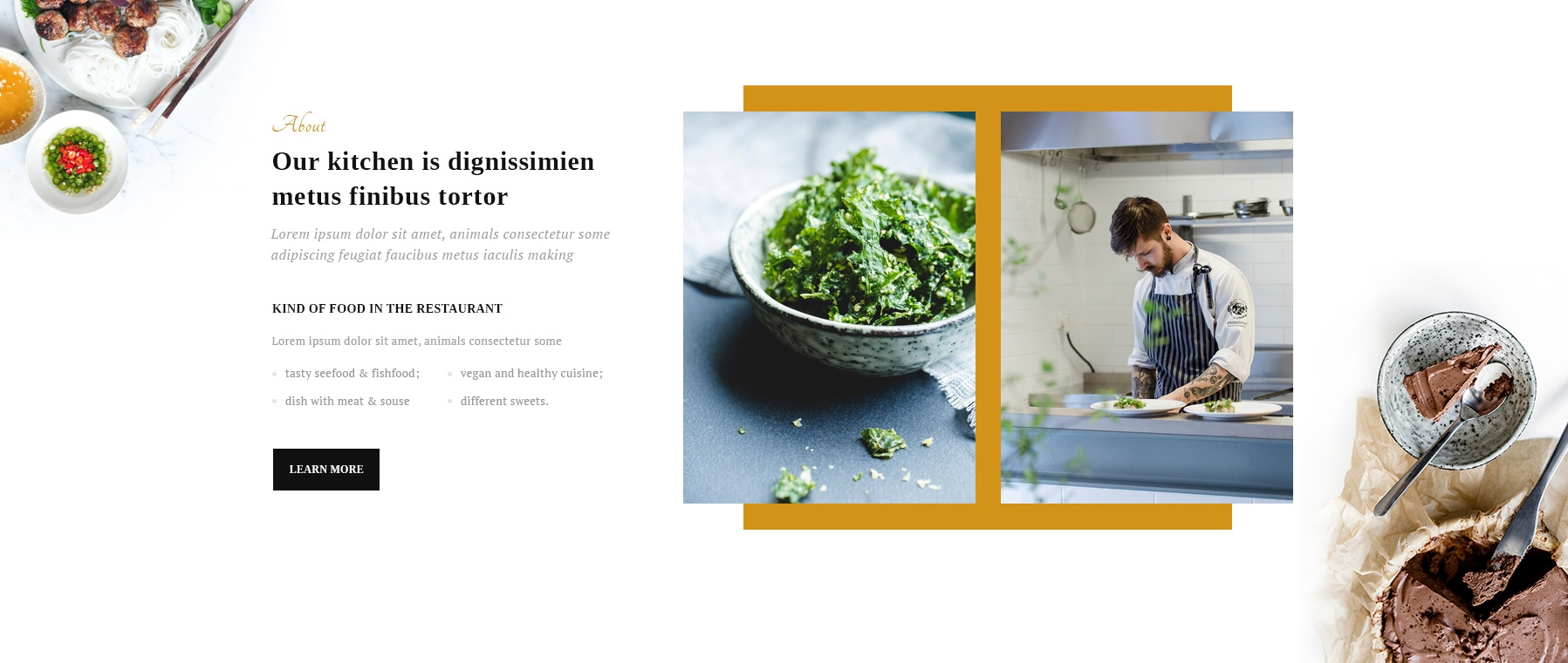 HTML5 Bootstrap OnePage Theme