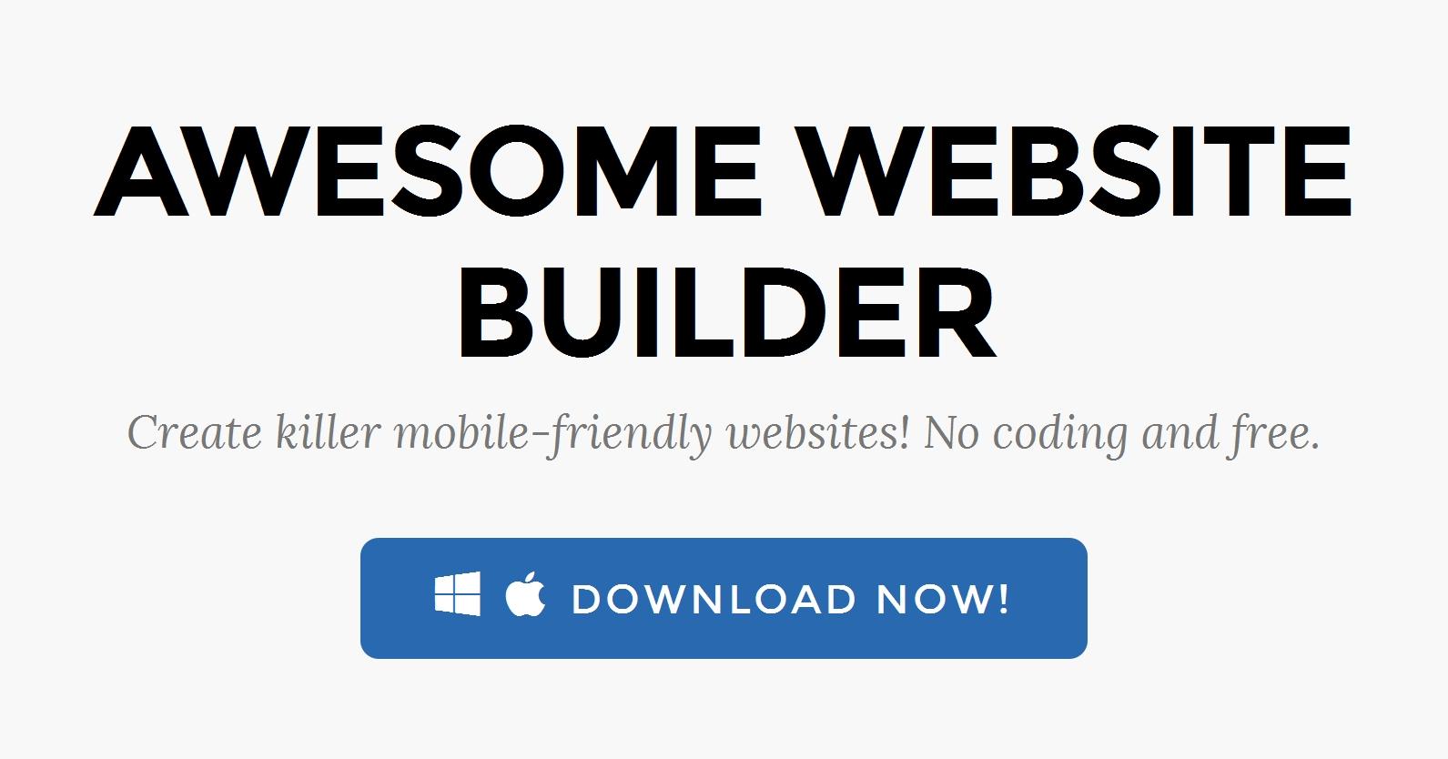 Drag and Drop Website Design Software