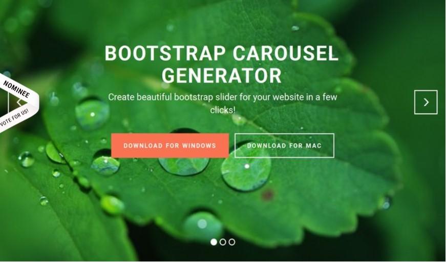 Carousel Bootstrap 4