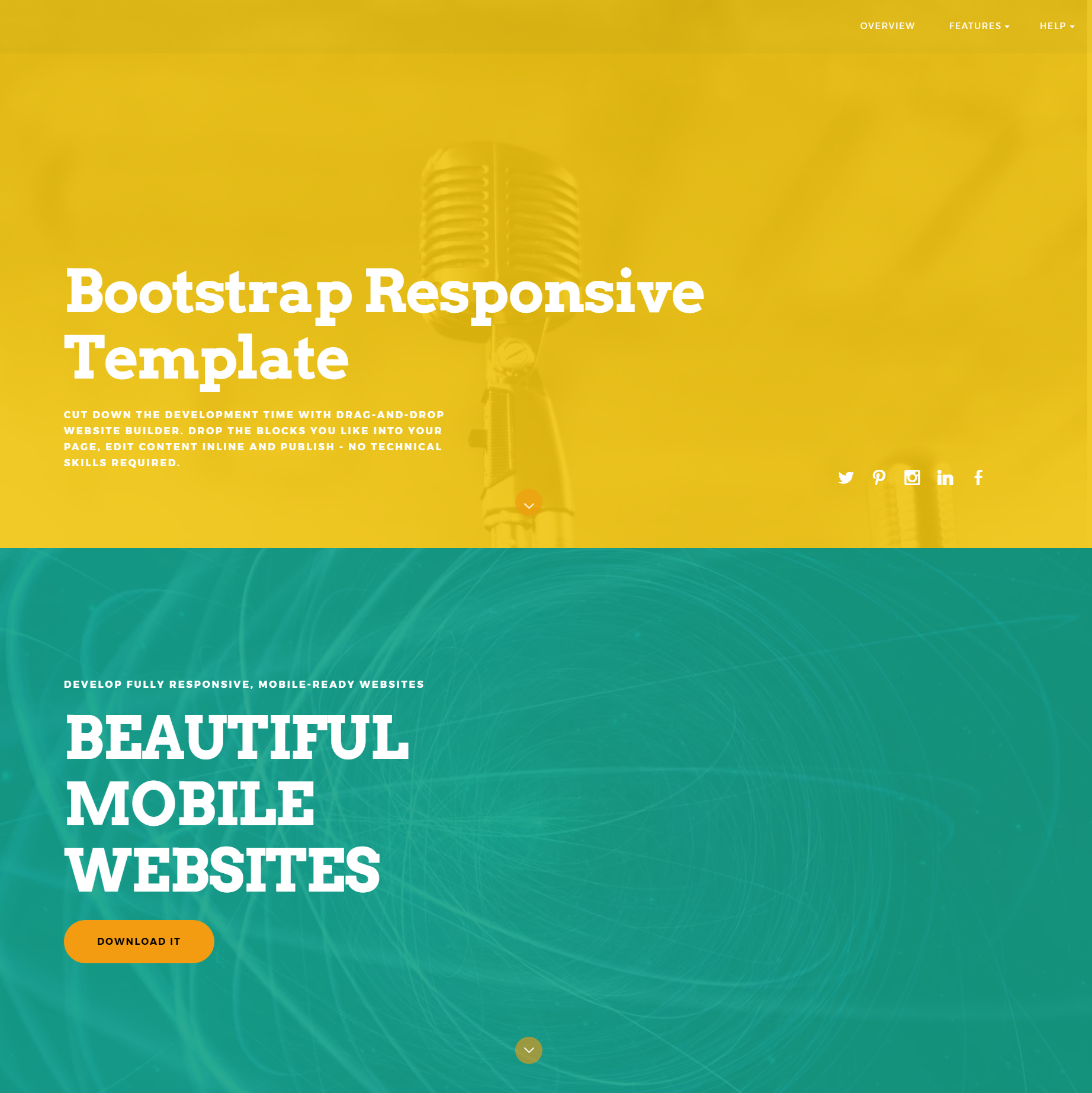 CSS3 Bootstrap ColorM Themes