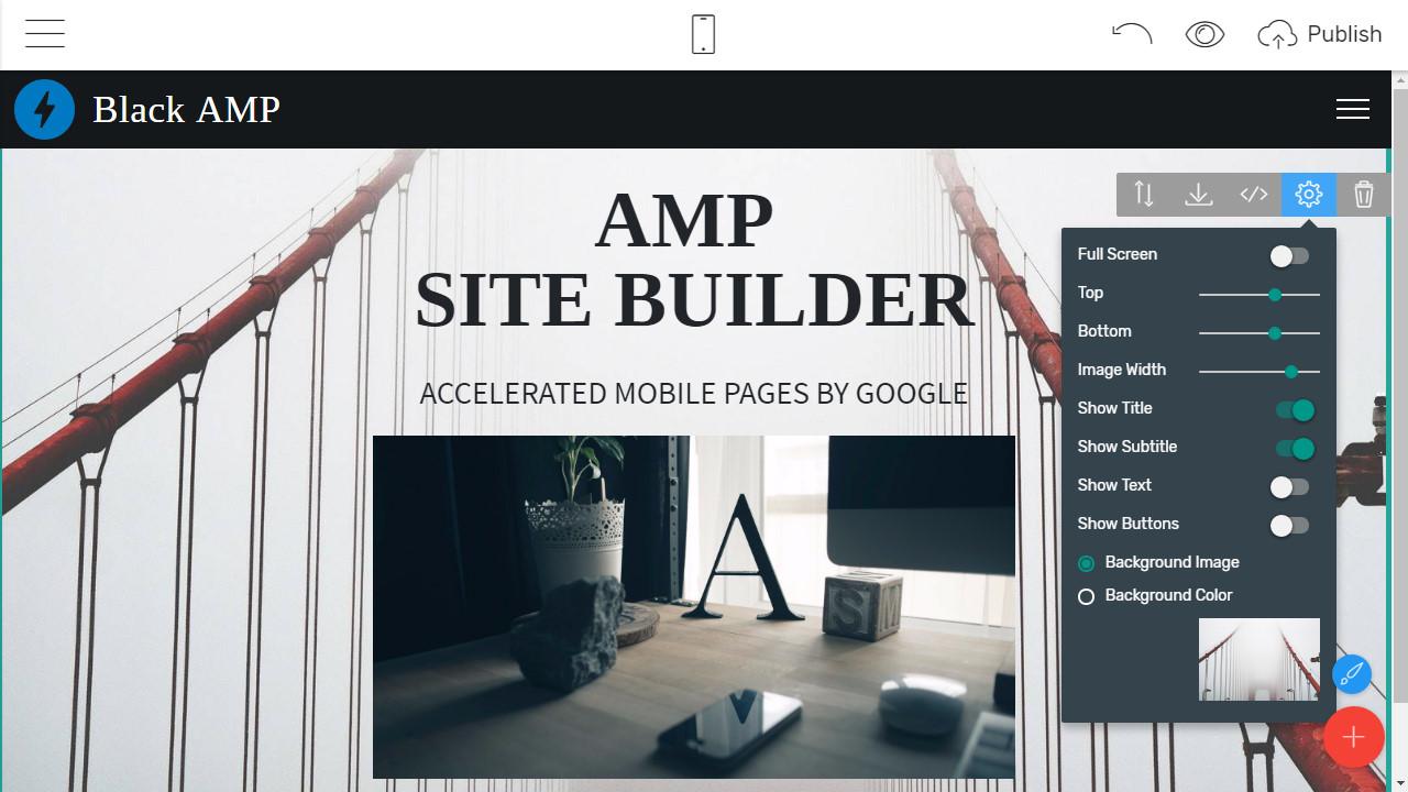 Mobile-friendly Website Creator